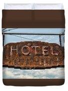 Hotel Pontotoc Duvet Cover