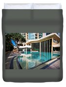 Hotel Swimming Pool Duvet Cover