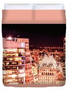 Hotel Vancouver And Sheraton Wall Center Duvet Cover