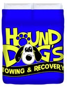 Hound Dogs Duvet Cover