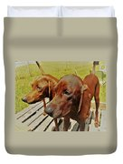 Hounds Duvet Cover