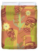 Hour At The Tiki Room Duvet Cover