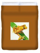Hourglass Frog Duvet Cover