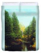 Hourglass Light Duvet Cover