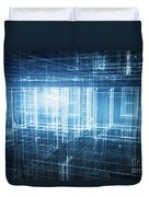 House 3d Project Duvet Cover
