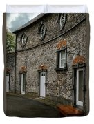 House And Street In Kilkenny Duvet Cover