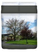 House At The City Limits Duvet Cover