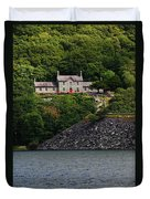 House By The Llyn Peris Duvet Cover