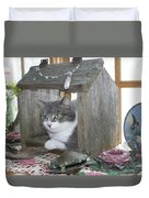 House Cat Duvet Cover