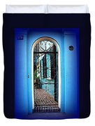 House Door 4 In Charleston Sc  Duvet Cover by Susanne Van Hulst