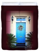 House Door 6 In Charleston Sc  Duvet Cover