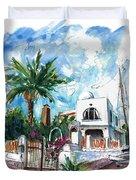 House In San Jose 02 Duvet Cover