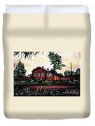 House In Sergiyev Posad   Duvet Cover