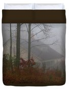 House In The Fog Duvet Cover