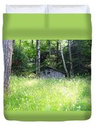House In The Wood Duvet Cover