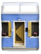 House Of Venice - Blue Duvet Cover