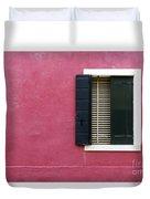 House Of Venice - Magenta Duvet Cover