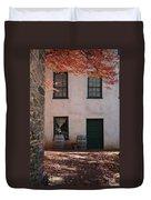 House Off Of Potomac St. Duvet Cover