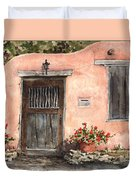 House On Delgado Street Duvet Cover
