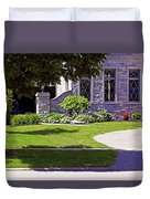 House On Wisconsin Avenue Duvet Cover