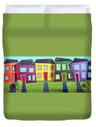 House Party 16 Duvet Cover
