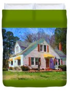 House Proud In Cary Duvet Cover