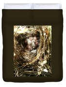 House Wren Family Duvet Cover