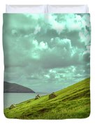 Houses And Ruins.  Duvet Cover