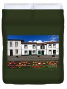 Houses In The Azores Duvet Cover