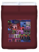 Houses Of San Miguel 2 Duvet Cover