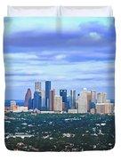 Houston 1980s Duvet Cover