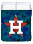 Houston Astros Logo Duvet Cover