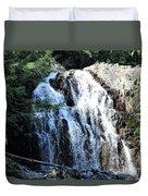 Houston Brook Falls Panorama Duvet Cover