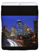 Houston City Life Duvet Cover