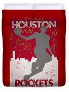 Houston Rockets Duvet Cover