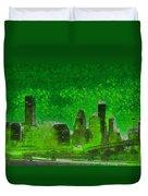 Houston Skyline 51 - Pa Duvet Cover