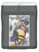 Houston Texans Jj Watt 3 Duvet Cover