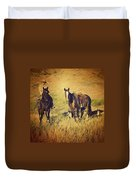 How 'bout Them Cowgirls Duvet Cover