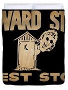 Howard Stern Rest Stop Duvet Cover