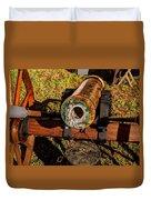 Howitzer Battle Of Honey Springs Duvet Cover