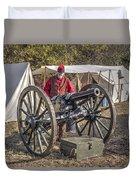 Howitzer Battle Of Honey Springs V3 Duvet Cover