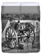 Howitzer Battle Of Honey Springs V4 Duvet Cover
