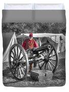 Howitzer Battle Of Honey Springs V5 Duvet Cover