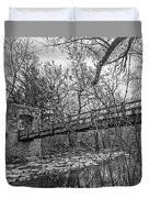 Hoyt Park Pedestrian Bridge Duvet Cover