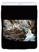 Hpa-an Caves Duvet Cover