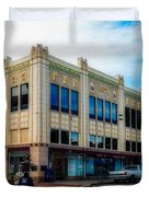 H.s. Kress Five And Dime Store Duvet Cover