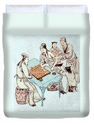 Hua Tuo Operating On Juan Kung, 2nd Duvet Cover