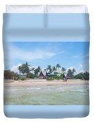 Huahin Beach View Duvet Cover