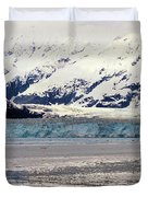 Hubbard Glacier Alaska Wilderness Duvet Cover
