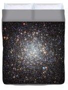 Hubble Image Of Messier 9 Duvet Cover